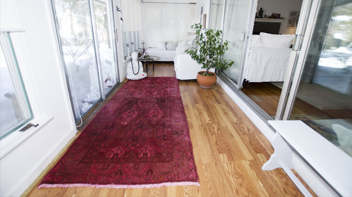 Overdye, Or Overdyed Persian And Modern Rugs