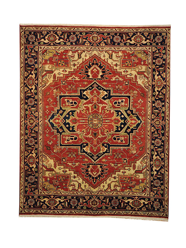 A Heriz Rug Is Known To Be Very Durable Due The Beautiful Wool Of Region And Its Thickness You Will See Room Size 19th Century Rugs In